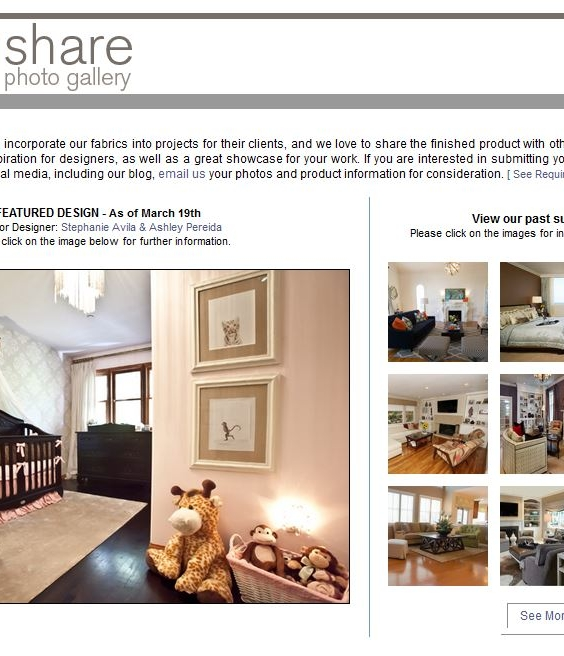 Showcase your work on a supplier design share galley ReD 5 Decor